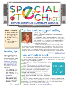 Specia Ed Tech, October 2015