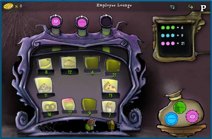Lure of the Labyrinth screen shot