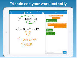 MathChat screen