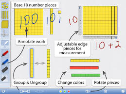Number Pieces screen