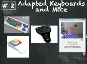 Adapted keyboards