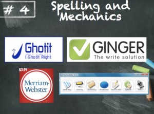 Spelling and mechanics