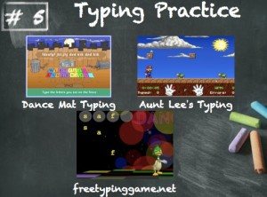 Typing practice tools