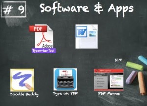 Software and apps